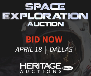 Space Exploration Auction - April 18 - Dallas, Texas