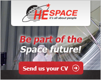 Wanted: Highly educated and motivated professionals for the space industry
