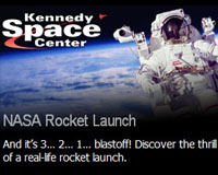 And it's 3... 2... 1... blastoff! Discover the thrill of a real-life rocket launch.