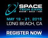 Space Tech Expo - Design - Build - Test - Long Beach CA - May 19-21, 2015