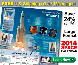 Year In Space 2013 Wall Calendar