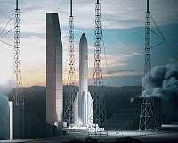 Hot firing proves solid rocket motor for Ariane 6 and Vega-C