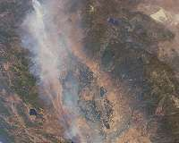 Human-sparked fires smaller, less intense but more frequent with longer seasons