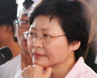 Hong Kong leader offers mea culpa, but no concessions