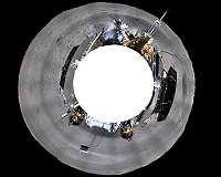 China moon rover
