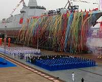 China to Develop Sea-Based Missile Interceptors