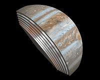 Scientists intrigued by data from first Juno flyby
