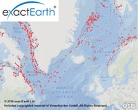 exactEarth's real-time maritime tracking system now fully-deployed