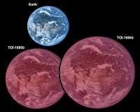 Bare Super-Earths offer clues to evolution of hot atmospheres