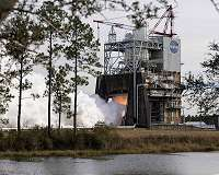 NASA continues fall series of RS-25 engine tests