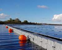 Floating solar farms could help reduce impacts of climate change on lakes and reservoirs