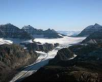 Iceland students see chilling reality of melting glacier