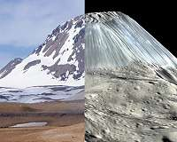 Ceres takes life an ice volcano at a time