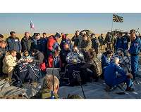 NASA astronaut Nick Hague, crewmates return safely from ISS