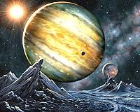 Mưa kim cương có thể rơi trên Sao Mộc và Sao Thổ