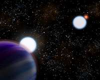 Astronomers show how planets form in binary systems without getting crushed