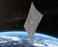 Solar sail craft could revolutionize space travel