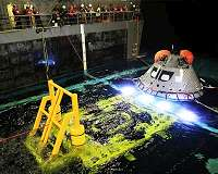Orion recovery team: ready to 'rock and roll'