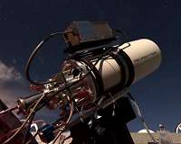 New infrared telescope first to monitor entire northern sky