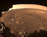 NASA's Perseverance Drives on Mars' Terrain for First Time