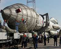 Russia Launches Heavy Rocket with Military Satellite