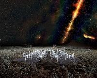 Innovative research uses remote radio telescopes to detect cosmic rays