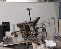 ExoMars goes for a spin
