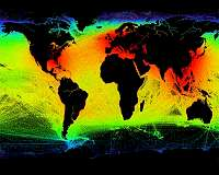Satellites paint a detailed picture of maritime activity