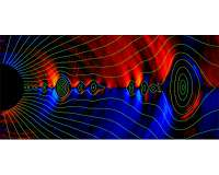 Magnetic 'balding' of black holes saves general relativity prediction