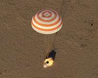 Crew of Soyuz MS-10 lands in Kazakhstan after launch failure
