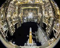 GPS 3 satellite ready for launch aboard Delta 4