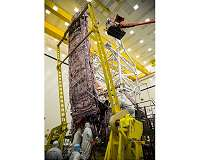 Technicians Ensure James Webb Space Telescope's Sunshield Survives Stresses Experienced During Liftoff