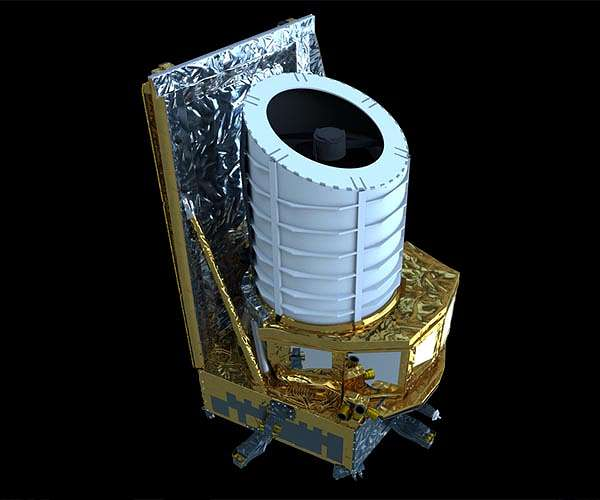 Euclidean optical and infrared instruments integrated into spacecraft