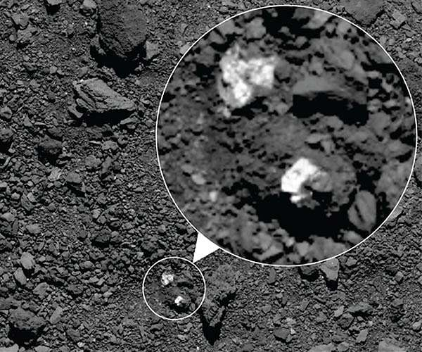 OSIRIS-REx finds possible pieces of Vesta on Bennu - Space Daily