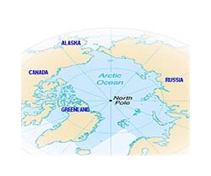 Map Of Canada Greenland And Iceland.Canada Flies Nato Flag In Arctic Showdown