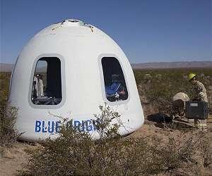 blue origin new shepard capsule landed lg
