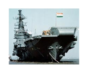 Indian Aircraft Carrier on Antony Witnesses Indian Navy S Battle Readiness Exercise