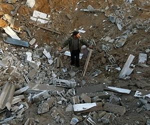 'Four Wounded In Israeli Air Strikes On Gaza'