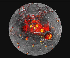 Mercury Ice Map