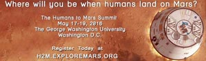 Human 2 Mars Conference May 9-11 2017 - Washington DC