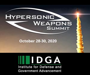 Hypersonic Weapons Summit 2020 | Oct 28 - Oct 30 | Washington DC