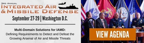 Integrated Air and Missile Defense 2017 - Sept 27-29 - Washington DC
