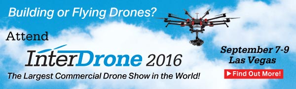 The World's Largest Commercial Drone Conference and Expo - Sept 7-9 - Las Vegas