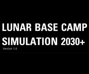 Simulation of surviving and thriving on the moon based on NASA Artemis Mission for astronauts living on the moon and Mars