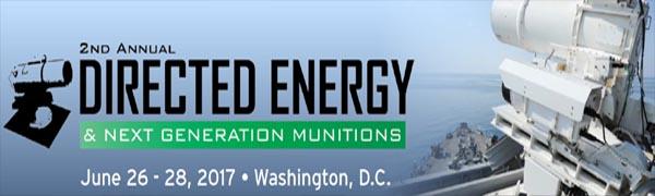 Directed Energy And Next Generation Munitions - 26-28 June - Washington DC