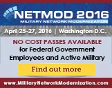 Military Network Modernization 2016 - Washington DC - April 25-27