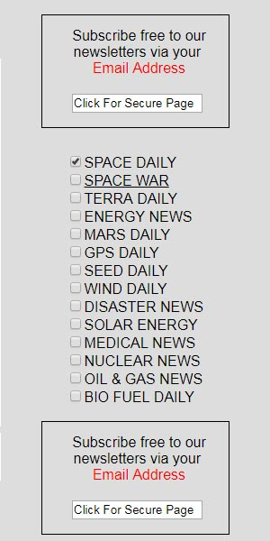 Daily Newsletters - Space - Military - Environment - Energy
