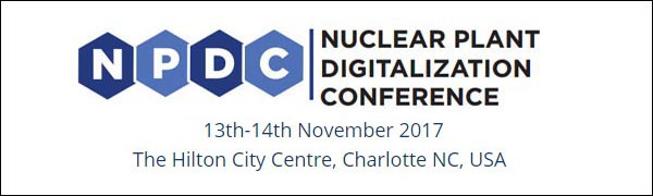 Nuclear Plant Digitalization Conference -November 2017, Charlotte, NC USA