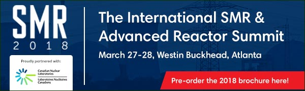 International SMR and Advanced Reactor Summit 2018 - March 27-28 - Atlanta USA