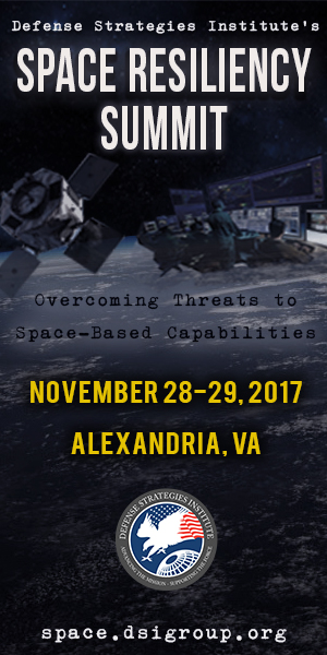 DSI 4th Space Resiliency Summit November 28-29, 2017 Alexandria, VA